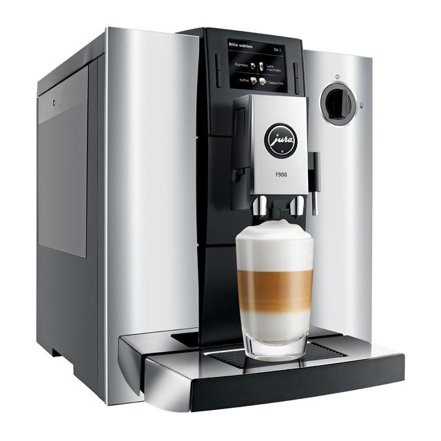 impressa f900 chrom kaffeevielfalt auf knopfdruck de lux cafemaschinenservice. Black Bedroom Furniture Sets. Home Design Ideas